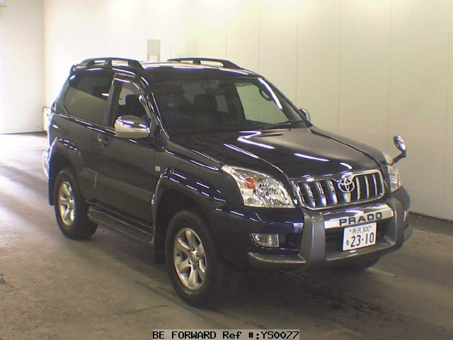 Used 2007 TOYOTA LAND CRUISER PRADO YS00077 for Sale