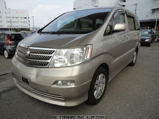 Used Alphard G Toyota For Sale Bf25063 Japanese Used