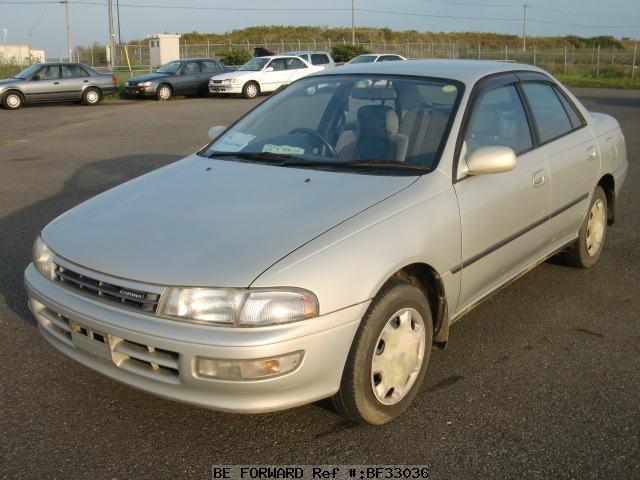 Toyota carina 1993 левый руль - 9e3b