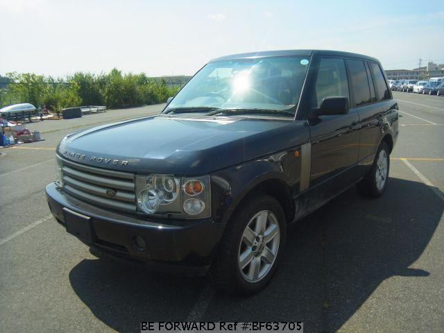 used range rover land rover for sale bf63705 japanese used cars exporter be forward. Black Bedroom Furniture Sets. Home Design Ideas