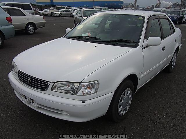Used corolla sedan toyota for sale bf66421 japanese used cars exporter be forward
