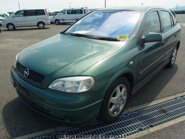 Used 2002 OPEL ASTRA BF70311 for Sale