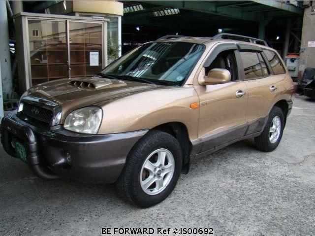 Used Santa Fe Hyundai For Sale Is00692 Japanese Used