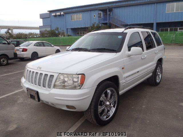White Jeep Grand Cherokee >> Used GRAND CHEROKEE JEEP for Sale | BF101993 | Japanese ...