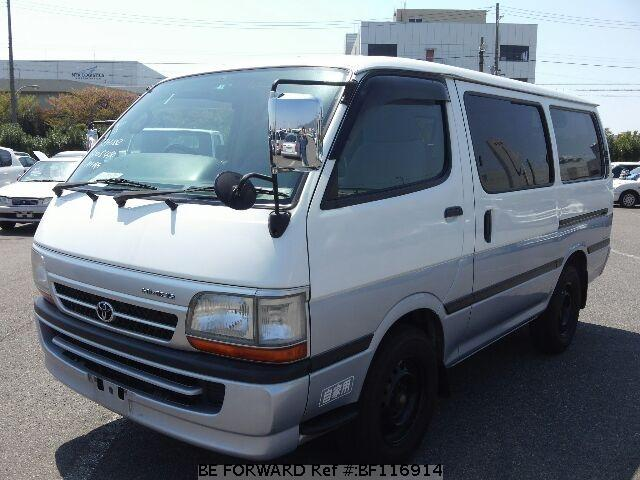 Used Hiace Van Toyota For Sale Bf116914 Japanese Used
