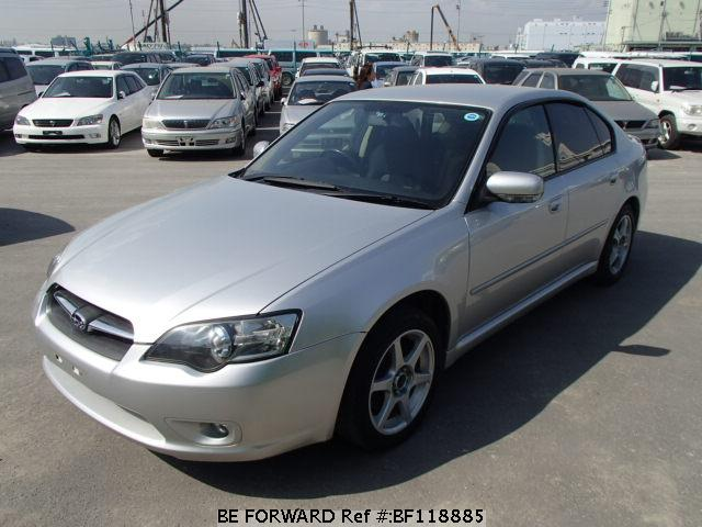 Used 2005 SUBARU LEGACY B4 BF118885 for Sale