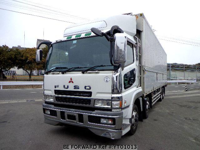 Used 2002 MITSUBISHI FUSO SUPER GREAT YT01013 for Sale