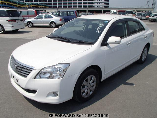 Used 2008 TOYOTA PREMIO BF123649 for Sale