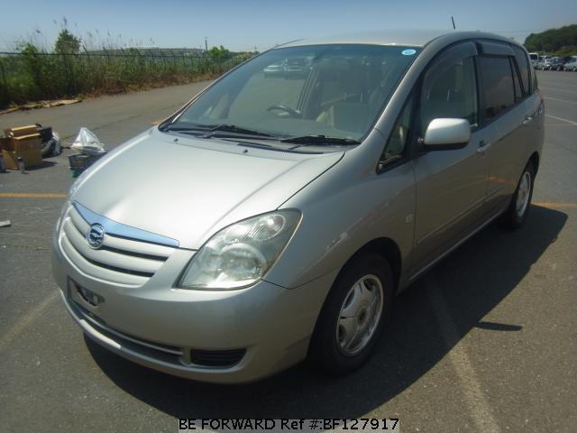 Used 2004 TOYOTA COROLLA SPACIO BF127917 for Sale