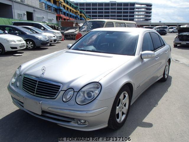 Used E-CLASS MERCEDES-BENZ for Sale | BF137106 | Japanese Used ...