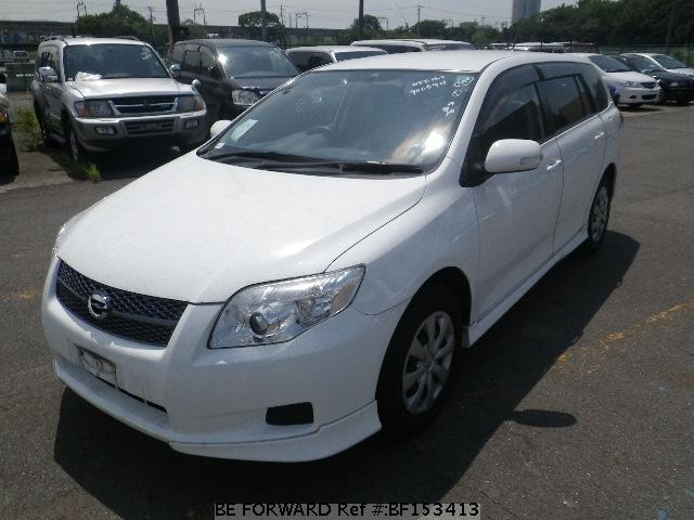 Used 2007 TOYOTA COROLLA FIELDER BF153413 for Sale