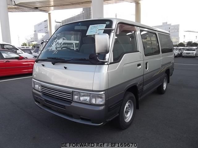 used caravan van nissan for sale bf169670 japanese. Black Bedroom Furniture Sets. Home Design Ideas