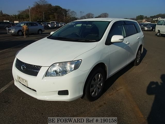 Used 2007 TOYOTA COROLLA FIELDER BF190158 for Sale