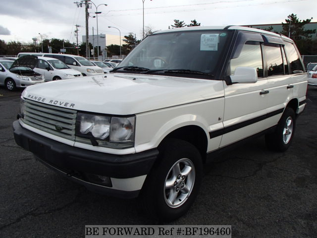used range rover land rover for sale bf196460 japanese used cars exporter be forward. Black Bedroom Furniture Sets. Home Design Ideas