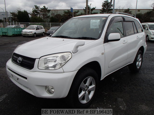 Used 2004 TOYOTA RAV4 BF196425 for Sale
