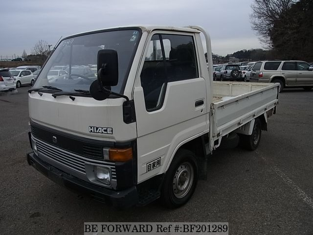 Used 1986 TOYOTA HIACE TRUCK BF201289 for Sale