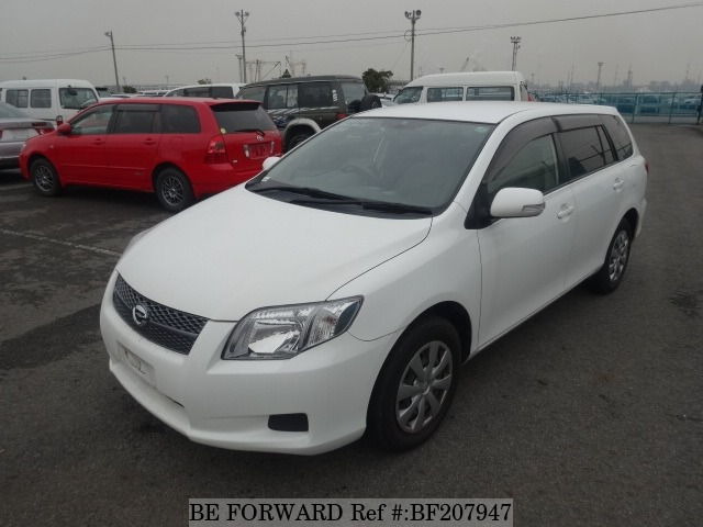 Used 2006 TOYOTA COROLLA FIELDER BF207947 for Sale