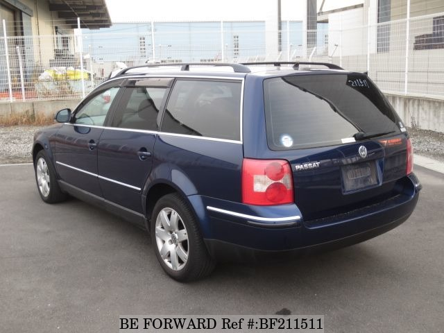 used passat wagon volkswagen for sale bf211511 japanese used cars exporter be forward. Black Bedroom Furniture Sets. Home Design Ideas