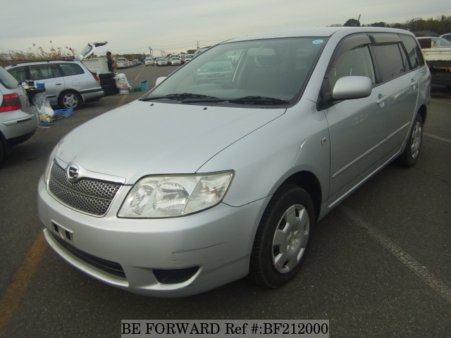Used 2006 TOYOTA COROLLA FIELDER BF212000 for Sale