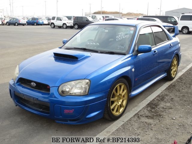 used impreza wrx sti subaru for sale bf214393 japanese used cars exporter be forward. Black Bedroom Furniture Sets. Home Design Ideas