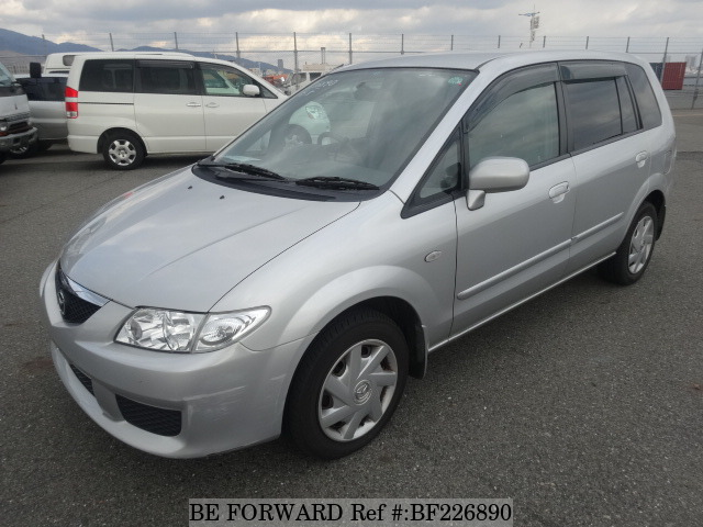 Used 2002 MAZDA PREMACY BF226890 for Sale
