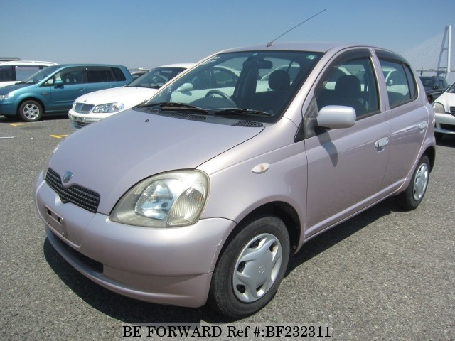 Used 2001 TOYOTA VITZ BF232311 for Sale